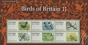 _P&G3 Birds of Britain II Post & Go Pack